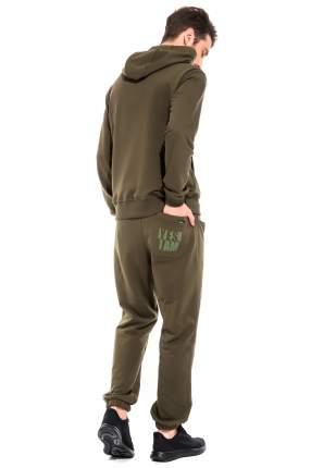 Спортивный костюм Peche Monnaie Adventure France 38, хаки, 3XL INT