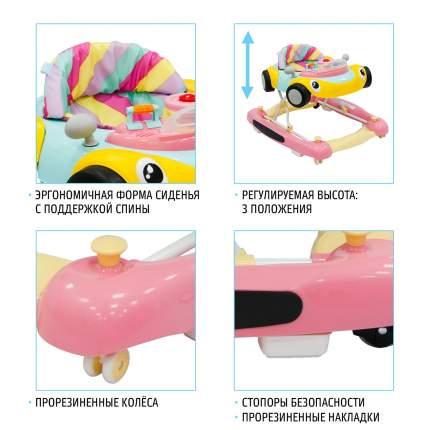 Детские ходунки Nuovita Corsa Grigio Rosso/Серо-красный