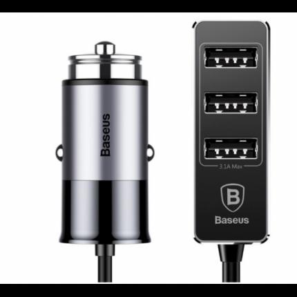 Автомобильное зарядное устройство Baseus Enjoy Together 4 USB Car Charger CCTON-0G (Серый)