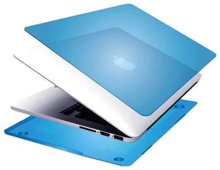 """Чехол для ноутбука 15"""" Promate MacShell Pro  Blue"""