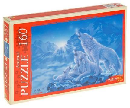 Пазл Рыжий кот Волчий вой в ночи 160 элементов МГ160-4042