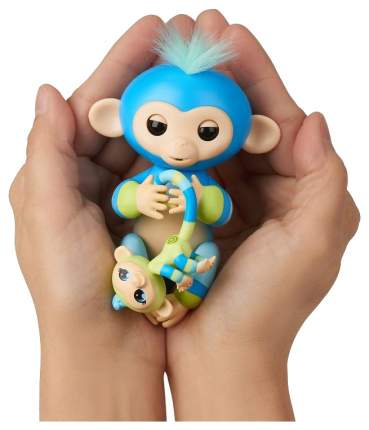 Интерактивная игрушка Обезьянка Билли FingerLings с малышом 3541M
