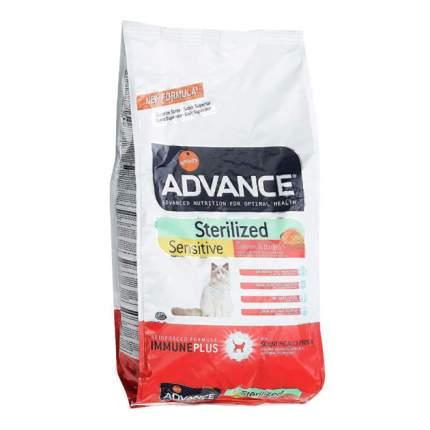 Сухой корм для кошек Advance Sterilized Sensitive, для стерилизованных, лосось, 1,5кг