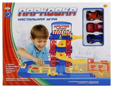 Парковка Играем вместе B550597-R с 3-мя машинками и аксессуарами