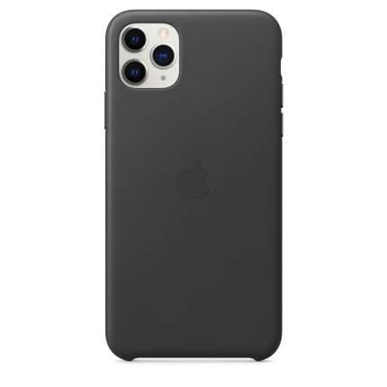Чехол Apple для iPhone 11 Pro Max Leather Case - Black
