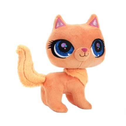 Мягкая игрушка Мульти-Пульти Рыжая кошка litttelest pet shop, озвученная 17 см