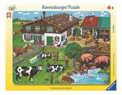 Пазл ravensburger «животные на ферме» 33 элем.