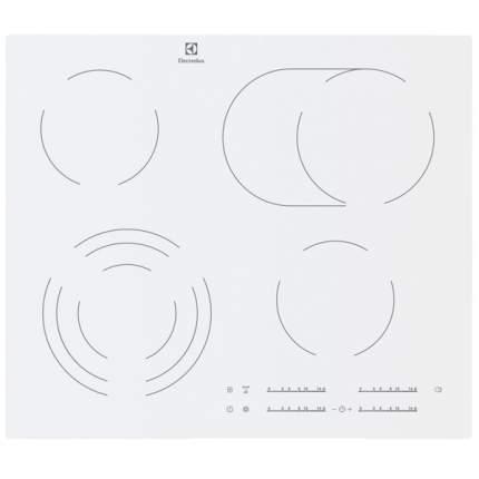 Встраиваемая варочная панель электрическая Electrolux EHF96547IW White