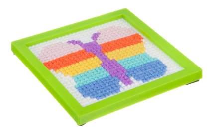 Набор для творчества Bondibon вышивка на пластиковой канве. бабочка