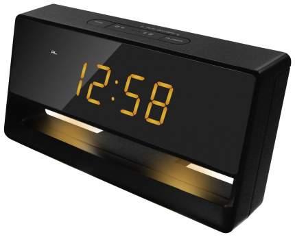 Часы-будильник UNIEL UTL-45Y Черный Желтый