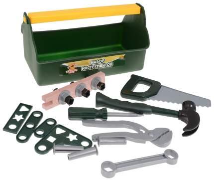 Помогаю папе. набор инструментов в ящике pt-00567