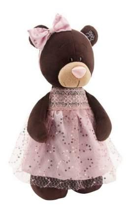 Мягкая игрушка Orange Toys Медведь Milk стоячая в платье с блёстками 30 см