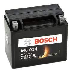 Аккумулятор автомобильный автомобильный Bosch Funstart AGM 0 092 M60 140 10 Ач