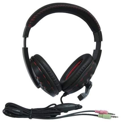 Игровые наушники nakatomi HS-T50MV Red/Black