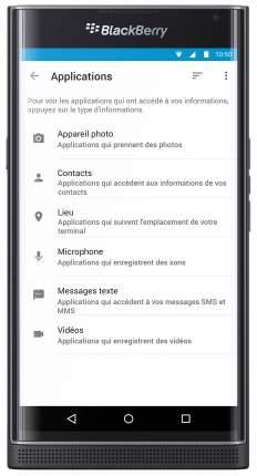 Смартфон BlackBerry PRIV 32Gb Black