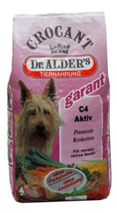 Сухой корм для собак Dr. Alder's Garant С-4 Activ, говядина, рис, 18кг