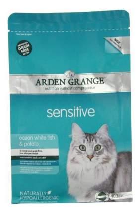 Сухой корм для кошек Arden Grange SENSITIVE, рыба, 0,4кг