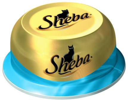Консервы для кошек Sheba Classic сочный тунец в нежном соусе, 80г
