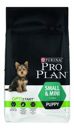 Сухой корм для щенков PRO PLAN OptiStart Small & Mini Puppy, для мелких пород, курица, 7кг