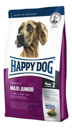 Сухой корм для щенков Happy Dog Supreme Young Maxi Junior, для крупных пород, птица, 4кг