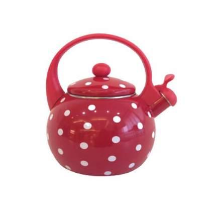 Чайник для плиты Appetite Горох FT7-1 Красный