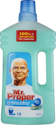 Универсальное чистящее средство для мытья полов Mr. Proper горный ручей и прохлада 1 л