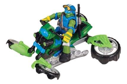 Мотоцикл с фигуркой Gulliver Черепашки-ниндзя - Лео Mutation