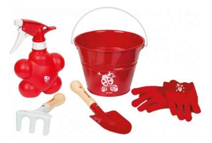 Набор садовых инструментов Janod Маленький садовник красный