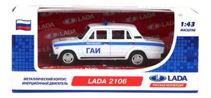 Коллекционная модель Carline 1:43 Lada 2106 ГАИ