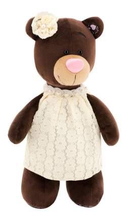 Мягкая игрушка Orange Toys Медведь Milk в кружевном платье 30 см