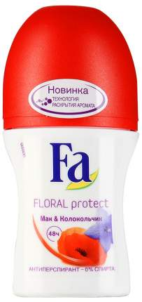 Дезодорант Fa Floral Protect Мак & Колокольчик 50 мл