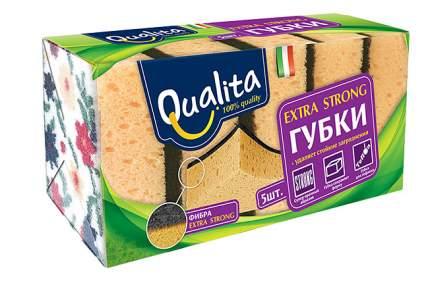 Губка для посуды QUALITA 02496105 5 шт