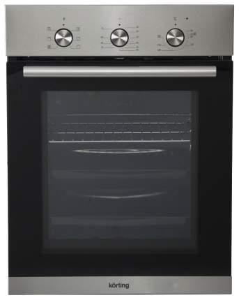 Встраиваемый электрический духовой шкаф Korting OKB 4630 CMX Silver