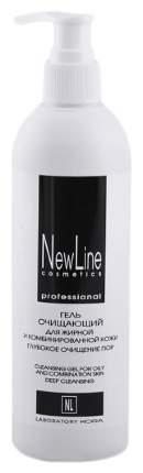Гель очищающий New Line Для жирной и комбинировнной кожи, 330 мл