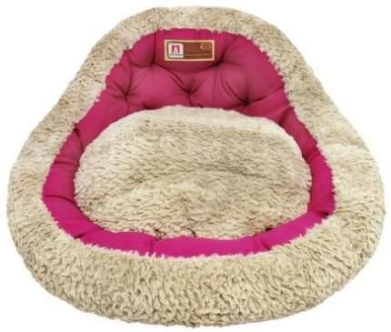 Лежанка для кошек и собак ЗООГУРМАН 45x45x20см розовый