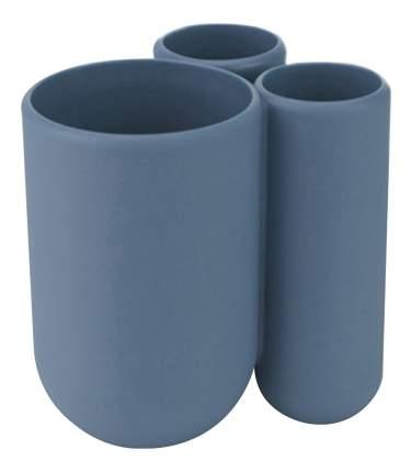 Подставка для зубных щёток touch дымчато-синий