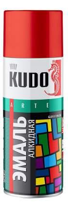 Эмаль универсальная KUDO черная матовая 520 мл