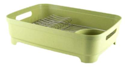 Сушилка для посуды GIPFEL 46 х 34 х 12 см зеленый