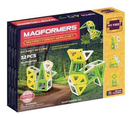 Конструктор магнитный Magformers My First Forest 32