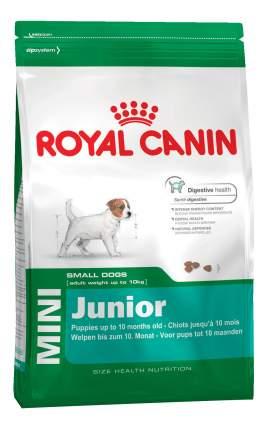 Сухой корм для щенков ROYAL CANIN Junior Mini, птица, 4кг