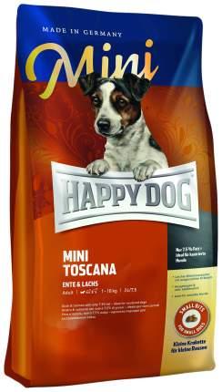 Сухой корм для собак Happy Dog Supreme Mini Toscana, для мелких пород, утка, 4кг