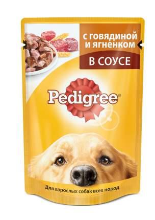 Влажный корм для собак Pedigree, ягненок, 24шт, 100г