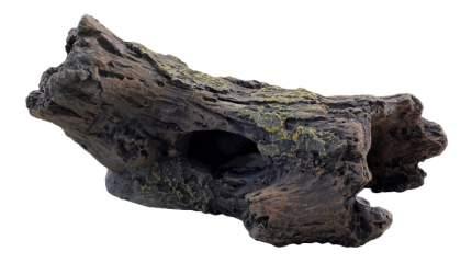 Грот для аквариума LAGUNA Сгнивший ствол 2513LD, 14х10х6,5см