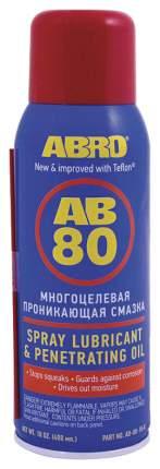 Тефлоновая смазка ABRO 210мл AB-80-R