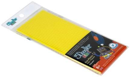 Эко-пластик к 3Д ручке 3Doodler Start, цвет желтый 24 шт