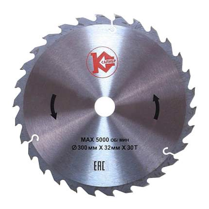 Пильный диск Калибр 300х32х30z 817