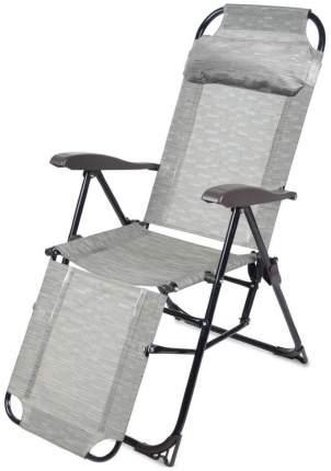 Кресло-шезлонг НИКА 3 складное с подножкой КШ3 Бамбук