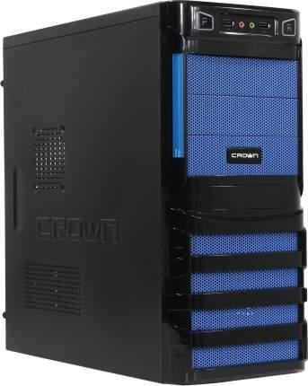 Компьютерный корпус Crown CMC-SM162 450 Вт blue/black