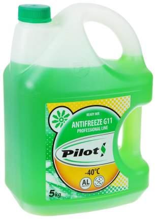 Антифриз PILOTS зеленый готовый антифриз -40 5л 3204