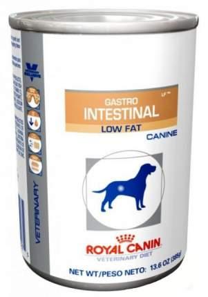 Консервы для собак ROYAL CANIN Gastro Intestinal Low Fat, мясо, 410г